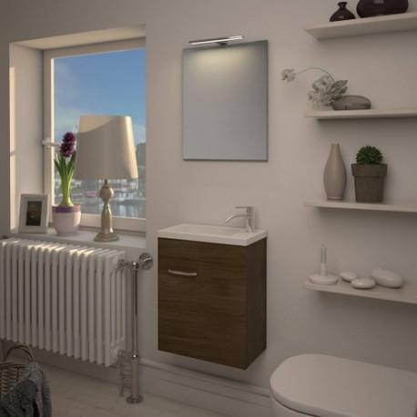 Meuble lave main pour petit espace meuble avec vasque pour petit espace bp carrelage - Meuble leman calais ...