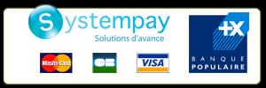 Visuel de paiement en ligne